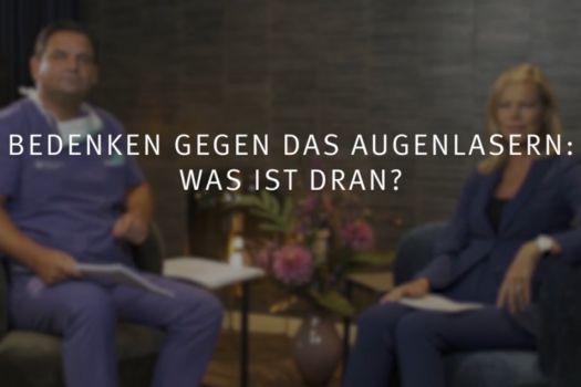 Teaserbild Ruge Interview 7: Bedenken gegen das Augenlasern – Was ist dran?