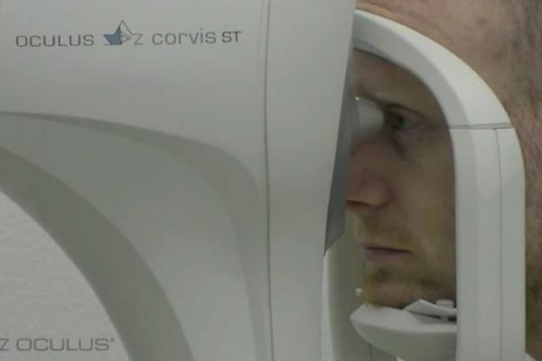 Teaserbild von [Vimeo] Augen-Vorsorge mit dem Non-Contact-Tonometer Corvis ST der Fa. Oculus