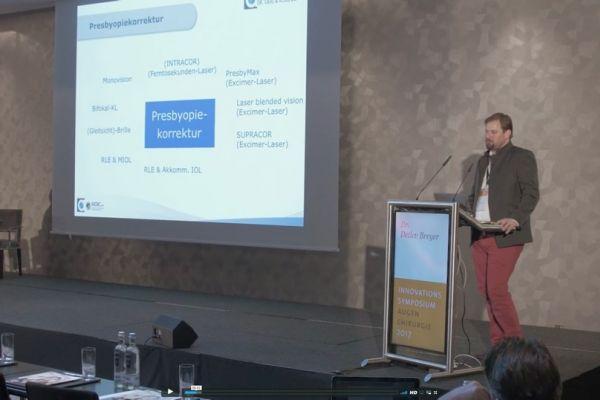Teaserbild von ISA17: Dr. Florian Kretz - Moderne Korneale Inlays