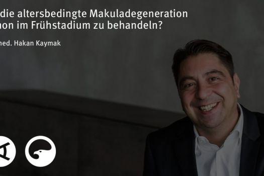 Teaserbild [Vimeo]Dr. Kaymak: Ist die altersbedingte Makuladegeneration schon im Frühstadium zu behandeln?