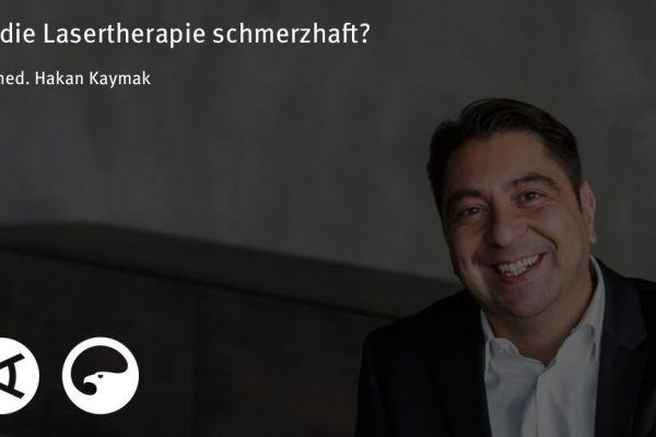 Teaserbild von [Vimeo]Dr. Kaymak: Ist die Lasertherapie schmerzhaft?
