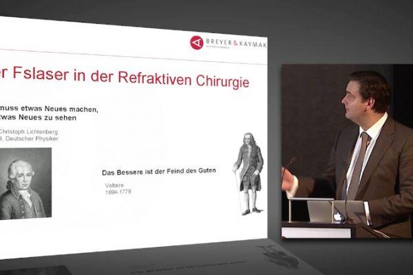 Teaserbild von [Vimeo] Vortrag Dr. Breyer ReLEx® smile