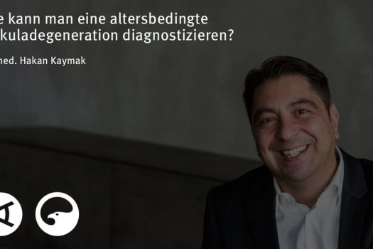 Teaserbild [Vimeo]Dr. Kaymak: Wie ist die altersbedingte Makuladegeneration zu diagnostizieren?