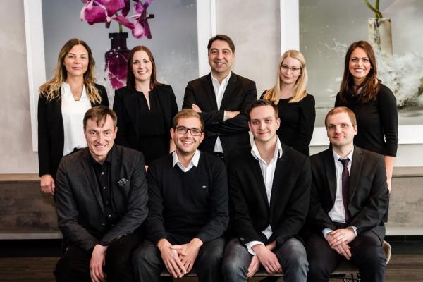 Das Team der Forschungsabteilung I.I.O.