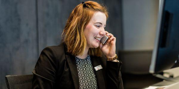 Teaserbild von Mitarbeiter (w/m) für die Telefonzentrale bei RETINET