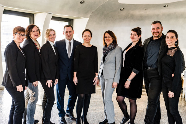 Unser Team in Meerbusch seit Anfang 2019.